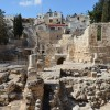Excavations_at_the_Pool_of_Bethesda_showing_the_ruins_of_the_Temple_of_Serapis_with_a_column_from_an_early_Christian_church,_Aelia_Capitolina_(15522624480)