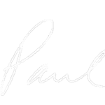 Paul sign white