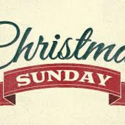 christmas service - Christmas Sunday